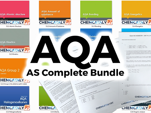 AQA AS Complete Bundle