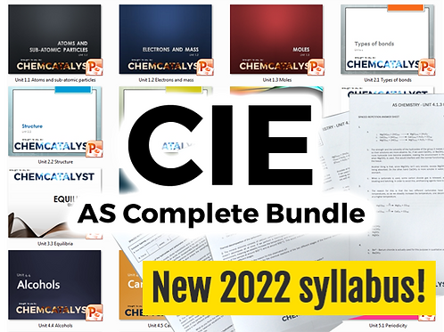 CIE AS Complete Bundle