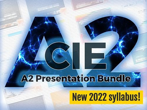 CIE A2 Presentation Bundle