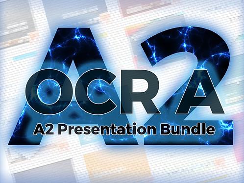 OCR A A2 Presentation Bundle