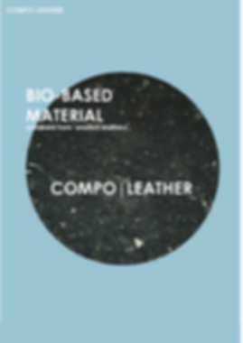 COMPO LEATHER BIO BASED MATERIAL wasted leather julie van den boorn UPcycling