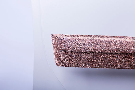 COMPO LEATHER Julie van den boorn Recycle used leather leather waste