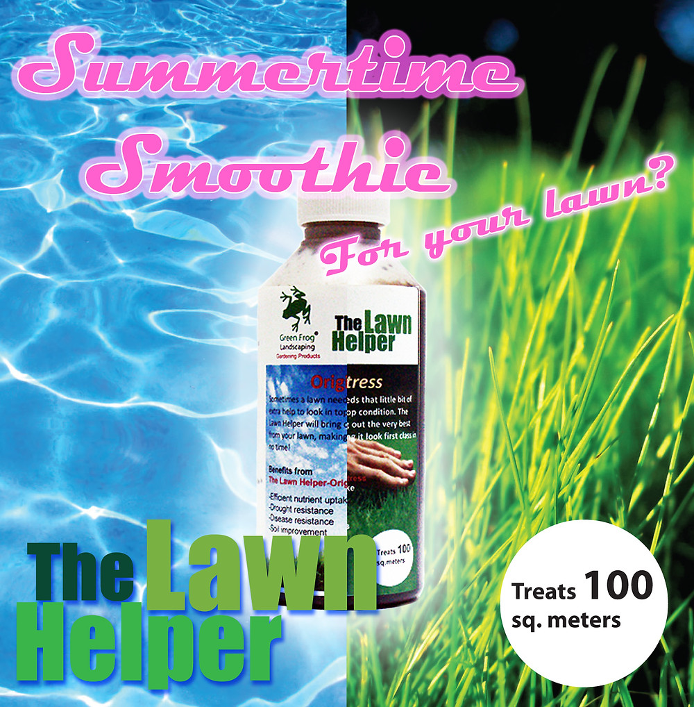 Summertime smoothie for your lawn...