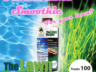 Give your lawn a smoothie?