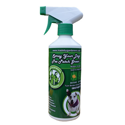 Spray Your Dogz Pee Patch Green 500ml