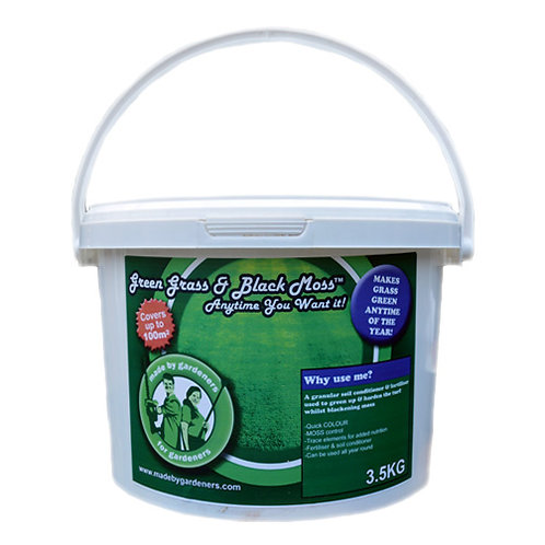 Green Grass & Black Moss Anytime You Want It! 3.5kg
