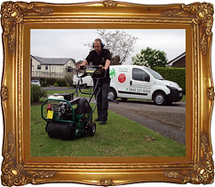hollow-tine aeration, core,Green Frog Landscaping, Bolton, Atherton, Farnworth, Horwich, Leigh, Warrington, Wigan, Manchester, Hale, Sale, Wilmslow, Westhoughton, garden, maintenance, gardener, lawn, care, treatment, weed, feed, scarifying, scarify,