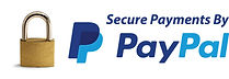 Secure payments by pay pal
