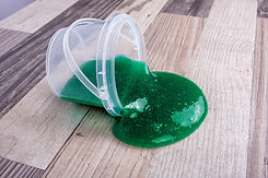 Spilling Green Slime