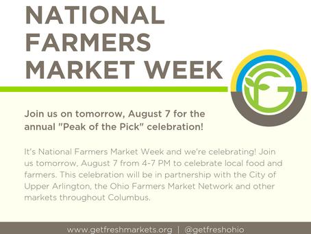 Upper Arlington Farmers Market: August 7