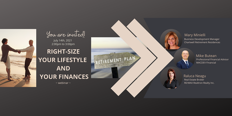 Right-size Your Lifestyle and Your Finances