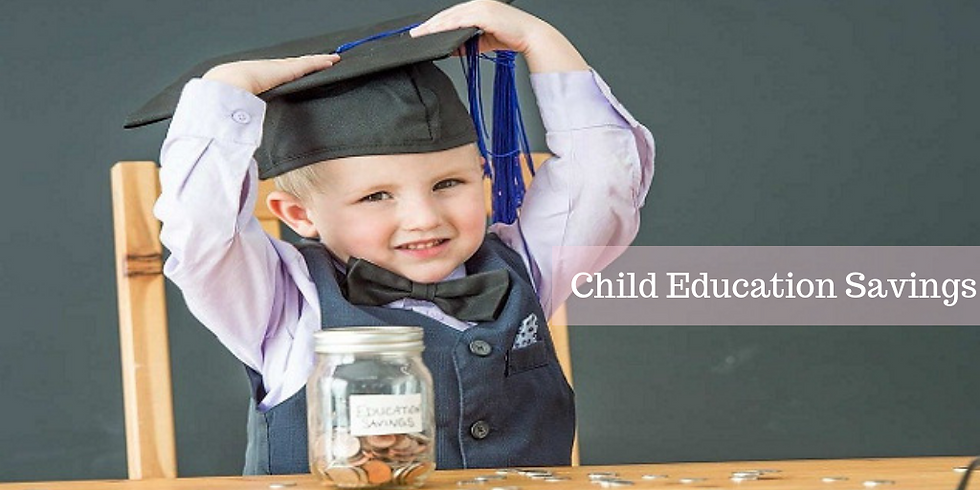 Educations saving event-Save early earn more