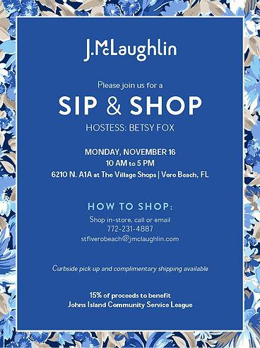 JICSL Sip and Shop INVITE Nov 16 2020.jp