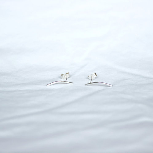 Delicate Curve Earrings