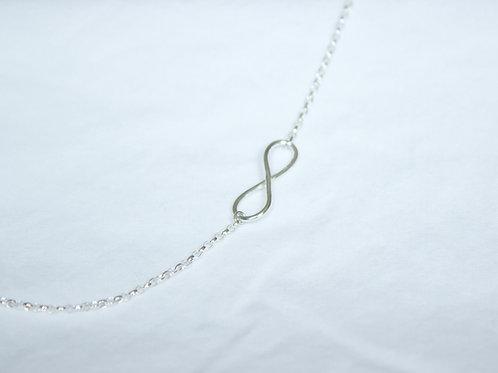Silver Infinity Loop Necklace