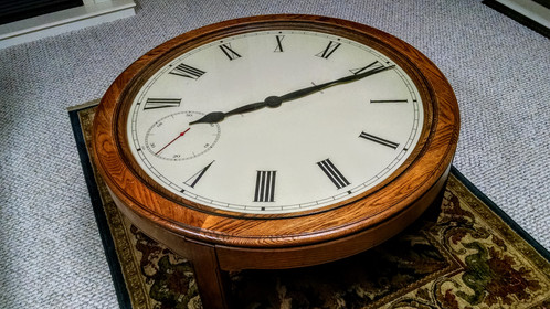 Charmant HOWARD MILLER Clock Coffee Table, 612 680   Vintage 1980u0027s In Excellent  Original Condition.