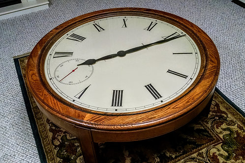 HOWARD MILLER CLOCK TABLE, 612-680