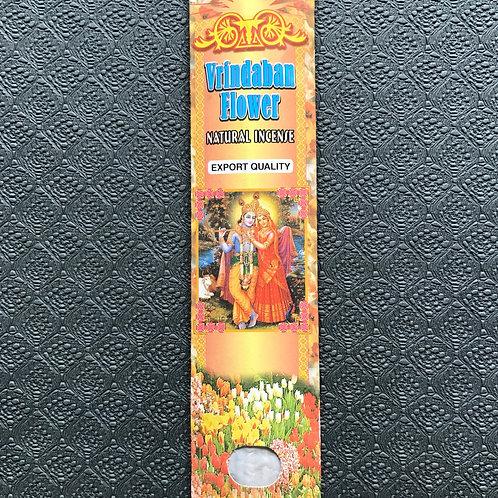 Vrindavan flower natural incense ( 10 stick pack)