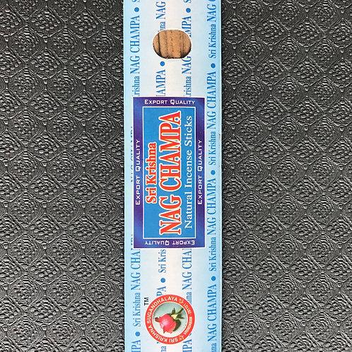 Nag champa natural incense ( 10 stick packs )