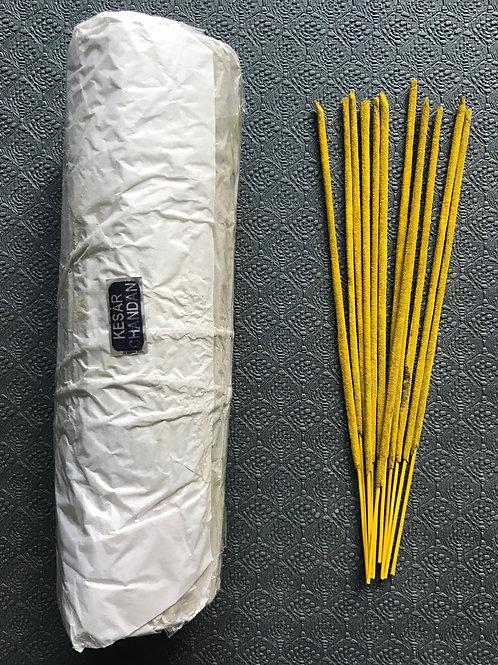 Kesar chandan natural incense (250gm bundle)