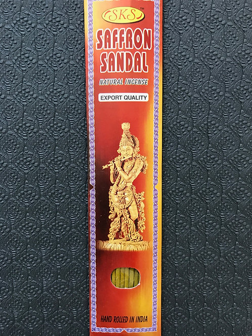 Keshar Chandan natural incense (10 stick pack)