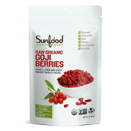 8oz - Organic Goji Berries