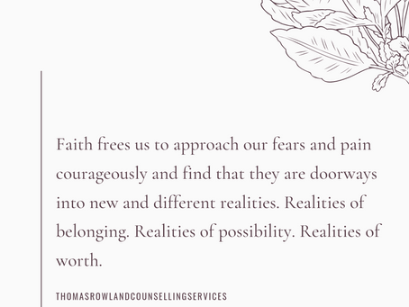 Faith and Fear Part I: Stories of Fear and Stories of Faith