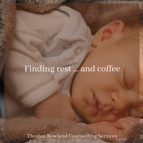 Finding rest...and coffee