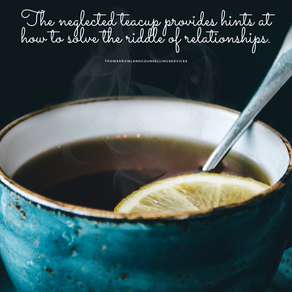 The humble glory of teacups