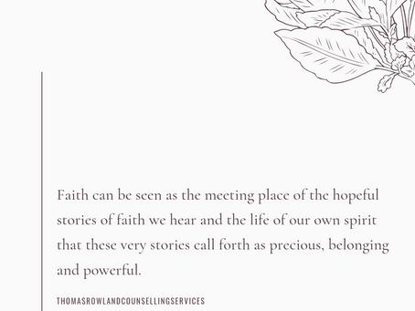 Faith and Fear Part III: Our Inner Reality