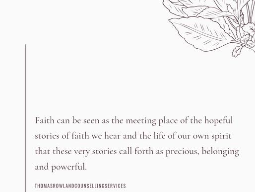 Faith and Fear Part IV: Our Inner Reality