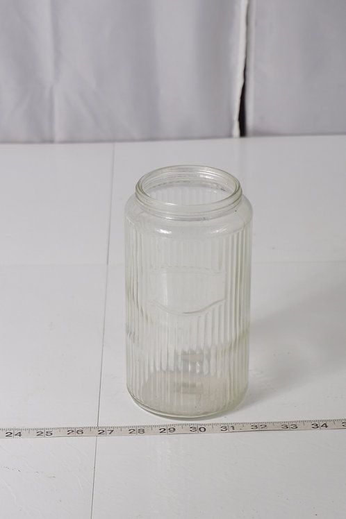 Glass Kitchen Canister No Lid