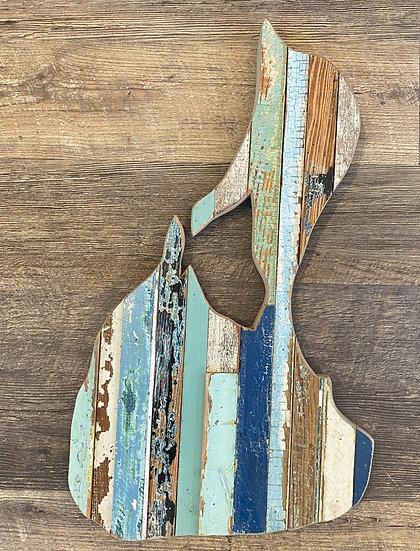 Block Island Wall Hanging Blue