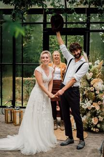 Boho Garden Chic Bruiloft - Styled Shoot