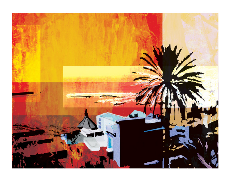 Tramonto Rosso, 2007 | Stampa Digitale