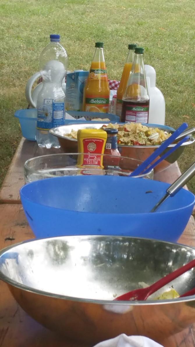 Sommerfest im Tageszentrum