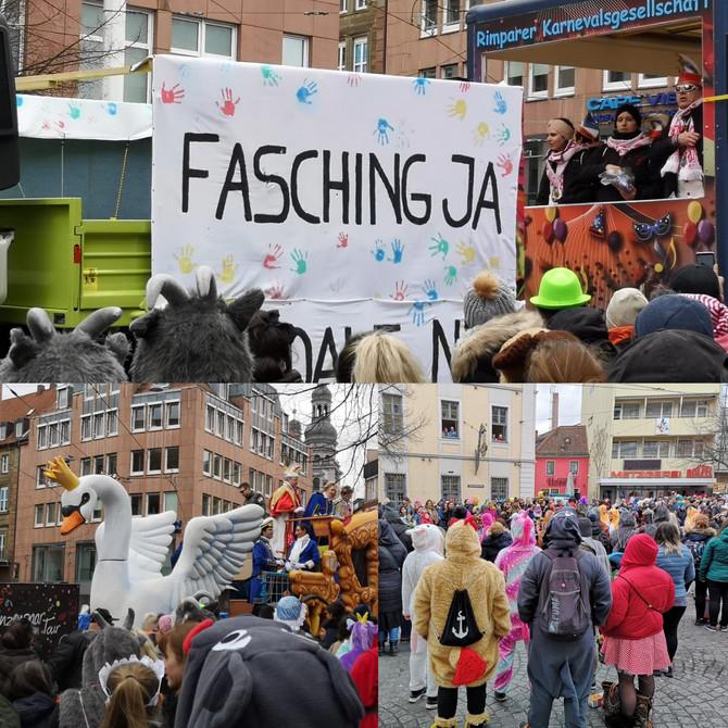 Faschingsumzug Würzburg