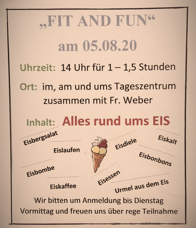 Fit and Fun - Alles rund ums EIS