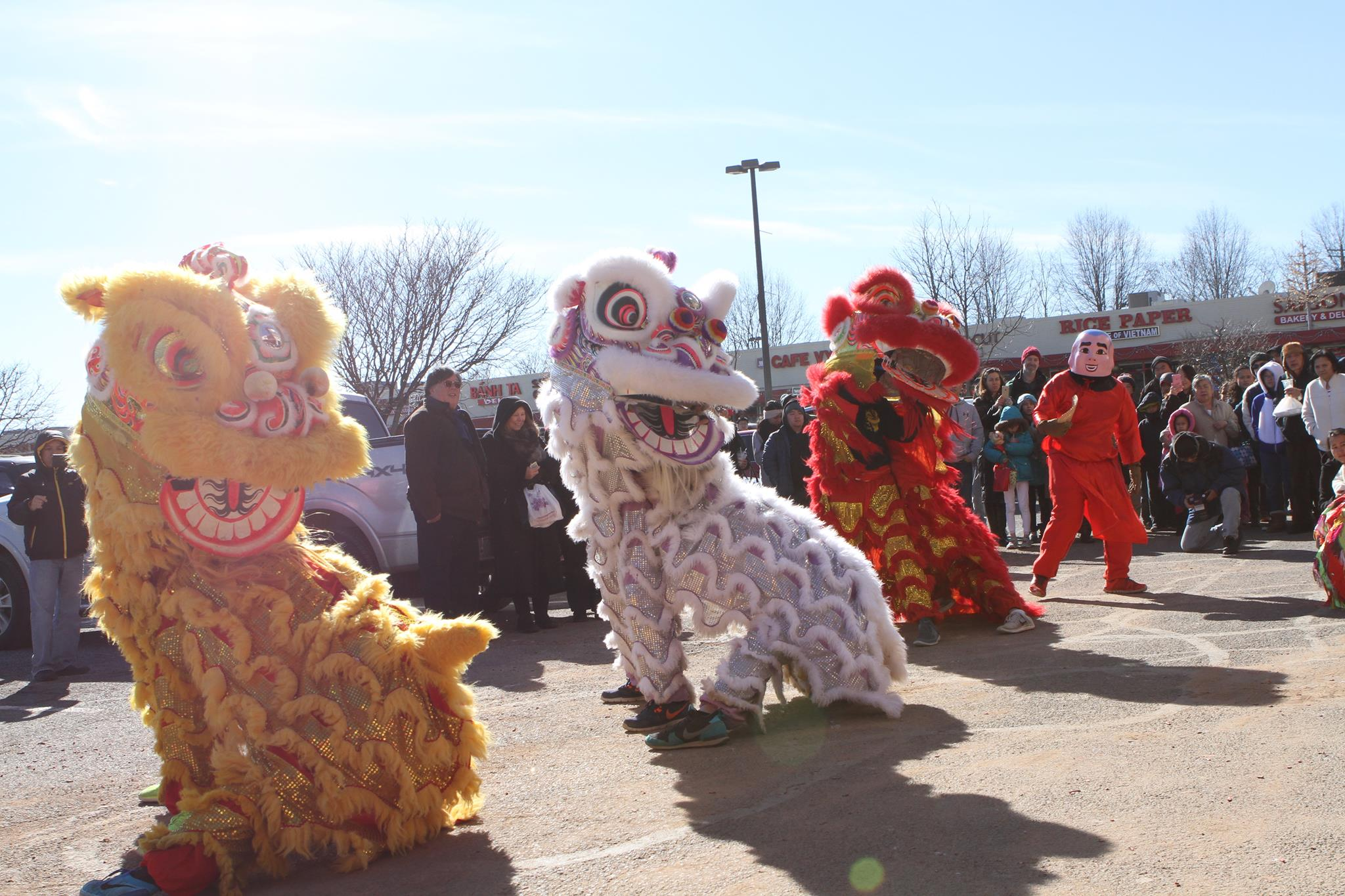Eden Center Lion Dance