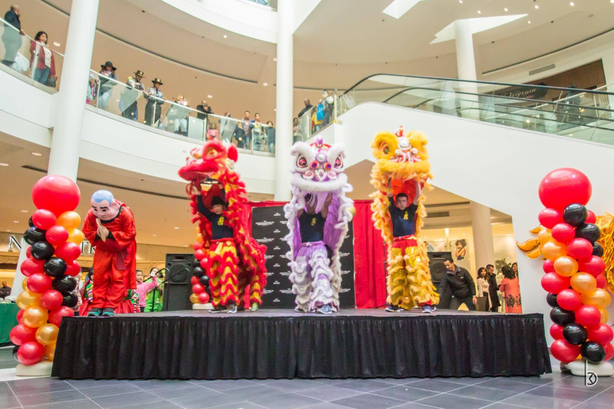 Mall Lion Dance
