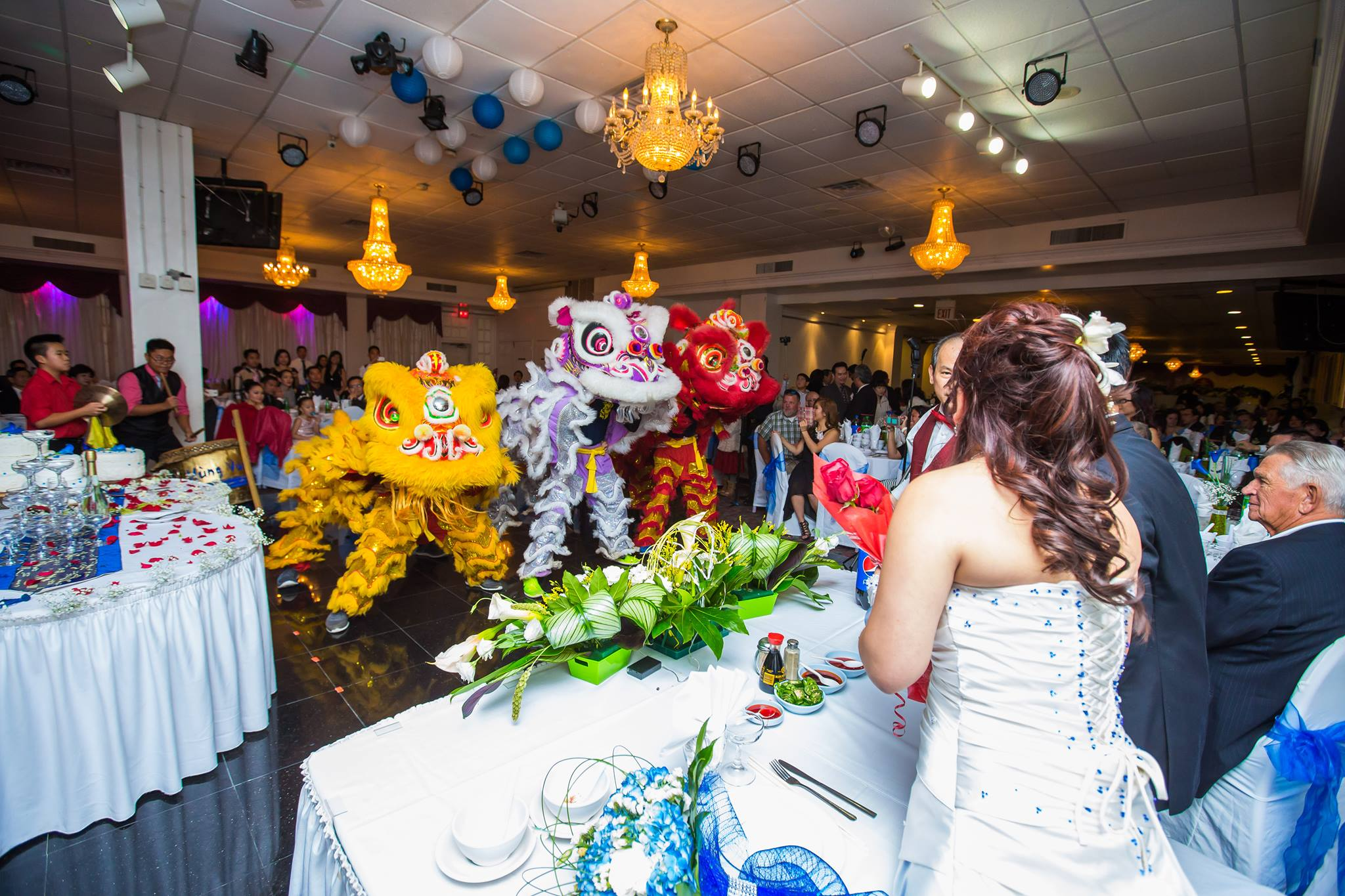Wedding Lion Dance