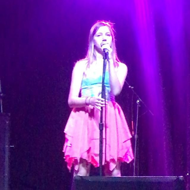 Featured singer Kendall Mitchell tonight