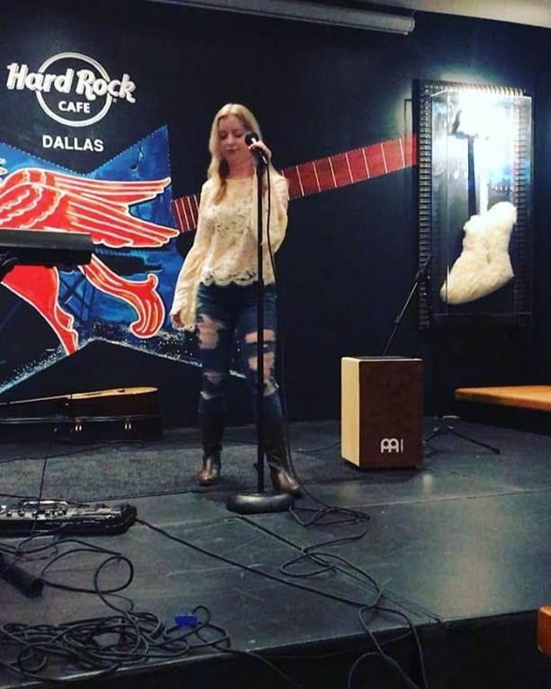 Taylor Smith tonight at the Hard Rock Ca