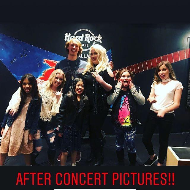 Post concert pictures _hardrockcafe in D