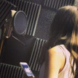 Magic happening in the recording studio