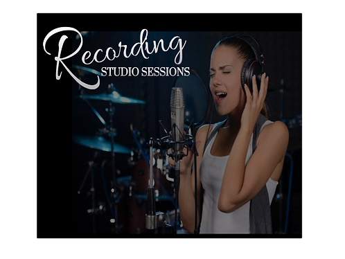 One 60 Minute Recording Studio Session