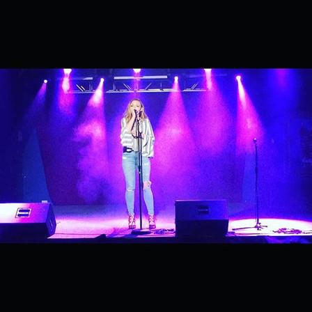 House of Blues last night! _madaleinemur