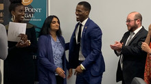 Bro. Aaron Spencer named runner up at Fairmont Innovation Lab's Pitch Deck Event