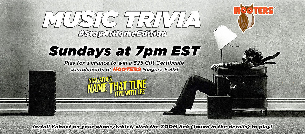 sunday music trivia niagaras name that tune live with lee