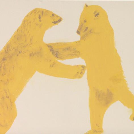 Polar Bears Dancing in the Snow
